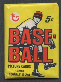 1968 Topps Baseball Wax Pack (1st Series)