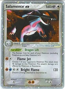 Pokemon Deoxys Single Salamence ex 103/107