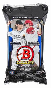 2015 Bowman Draft Picks & Prospects Baseball SUPER Jumbo Pack