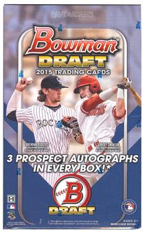 2015 Bowman Draft Picks & Prospects Baseball Jumbo Box