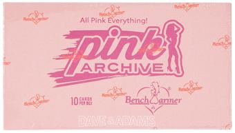 BenchWarmer Pink Archive Hobby Box (2015)