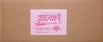 BenchWarmer Pink Archive Hobby 20-Box Case (2015)