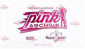 BenchWarmer Pink Archive Final Edition Hobby Box