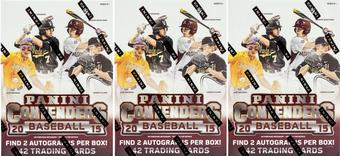 2015 Panini Contenders Baseball 7-Pack Box (Lot of 3)
