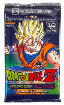 Panini Dragon Ball Z: Heroes & Villains Booster Blister Pack
