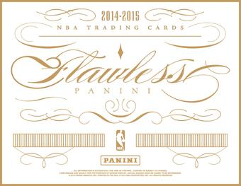 2014/15 Panini Flawless Basketball Hobby 2-Box Case (Presell)