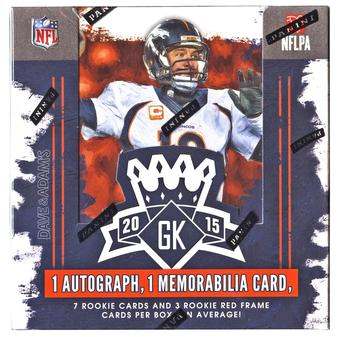 2015 Panini Gridiron Kings Football Hobby 15-Box Case