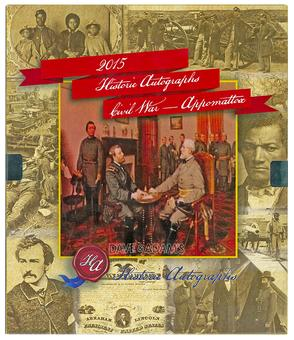 2015 Historic Autographs Civil War - Appomattox Premium Box