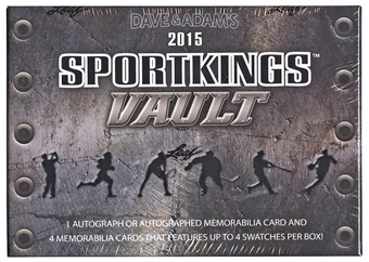 2015 Leaf Sportkings Vault Hobby Box