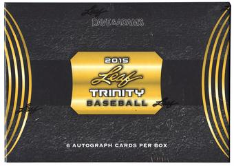 2015 Leaf Trinity Baseball Hobby Box