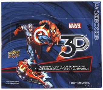 Marvel 3D Hobby Box (Upper Deck 2015)