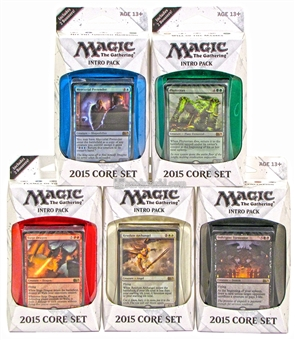 Magic the Gathering 2015 Core Set Intro Pack - Set of 5