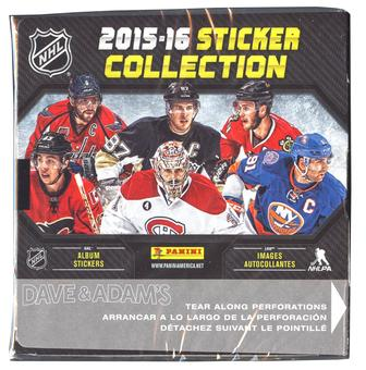2015/16 Panini NHL Hockey Sticker Box