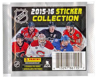 2015/16 Panini NHL Hockey Sticker Pack (Lot of 50)