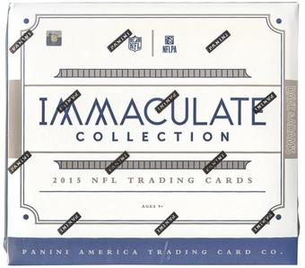 2015 Panini Immaculate Football Hobby Box