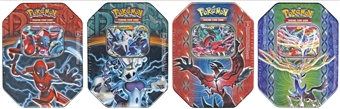 2015 Pokemon Best Of Collector's Tin - Set of 4