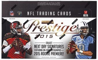 2015 Panini Prestige Football 12-Box Hobby Case- DACW Live 32 Spot Random Team Break #2