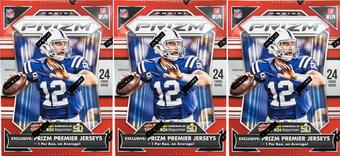 2015 Panini Prizm Football 6-Pack Box (Lot of 3)
