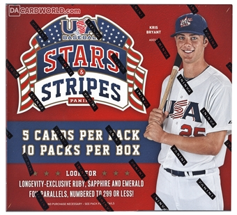 2015 Panini USA Stars & Stripes Longevity Baseball Box