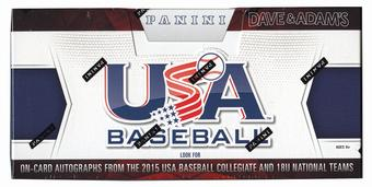 2015 Panini USA Baseball Hobby Box (Set)