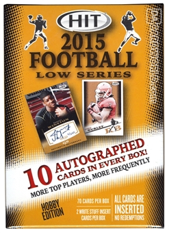 2015 Sage Hit Low Series Football Hobby Box