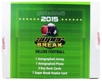 2015 Super Break Deluxe Football Hobby Box