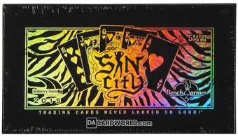 Benchwarmer Sin City Trading Cards Box (2015) (Industry Summit)