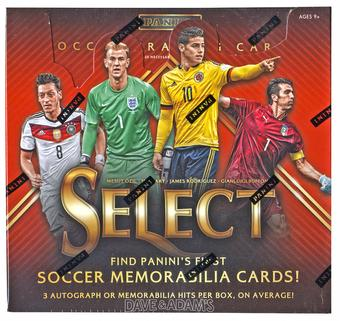 2015 Panini Select Soccer Hobby Box