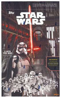 Star Wars: The Force Awakens Series 1 Hobby Box (Topps 2015)