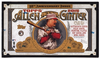 2015 Topps Allen & Ginter Baseball Hobby Box