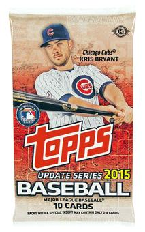 2015 Topps Update Baseball Hobby Pack