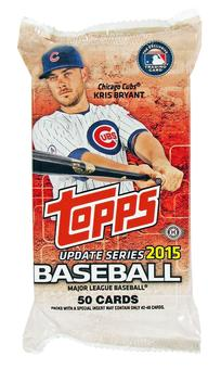 2015 Topps Update Baseball Jumbo Pack