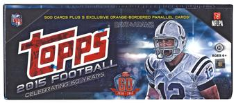 2015 Topps Factory Set Football Hobby (Box)
