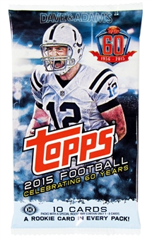 2015 Topps Football Hobby Pack
