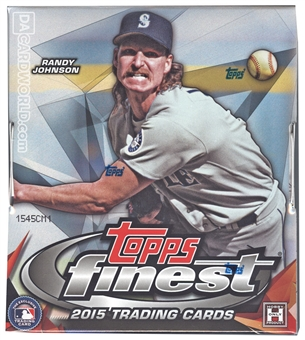 2015 Topps Finest Baseball Hobby Box