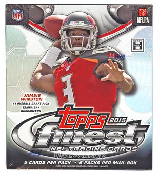 2015 Topps Finest Football Hobby Mini-Box