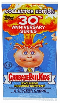 Garbage Pail Kids 30th Anniversary Collector's Edition Pack (Topps 2015)