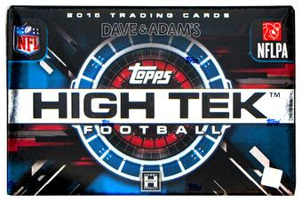 2015 Topps High Tek Football Hobby 12-Box Case- 2017 National DACW Live 30 Spot Random Team Break