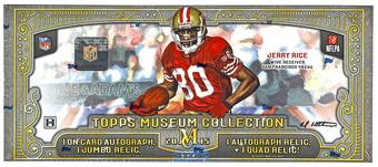 2015 Topps Museum Collection Football Hobby Box
