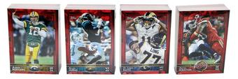 2015 Topps Football Limited Edition Oversized Factory Set - Only 25 Sets Produced!