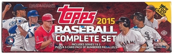 2015 Topps Factory Set Baseball Hobby (Box) - Perfect Gift Idea !