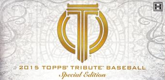2015 Topps Tribute Special Edition Baseball Hobby 12-Pack Case