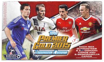 2015 Topps English Premier League Gold Soccer Hobby Box