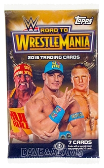 2015 Topps WWE Road to Wrestlemania Wrestling Hobby Pack