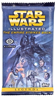 Star Wars Illustrated: The Empire Strikes Back Hobby Pack (Topps 2015)