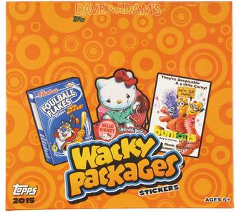 Wacky Packages Trading Cards Stickers Box (Topps 2015)
