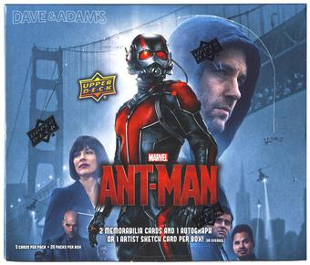 Marvel Ant-Man Trading Cards Box (Upper Deck 2015)