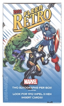 Marvel Fleer Retro Trading Cards Hobby Mini-Box (Upper Deck 2015)