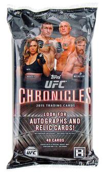 2015 Topps UFC Chronicles Hobby Pack