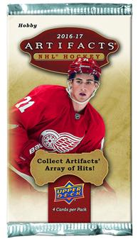 2016/17 Upper Deck Artifacts Hockey Hobby Pack